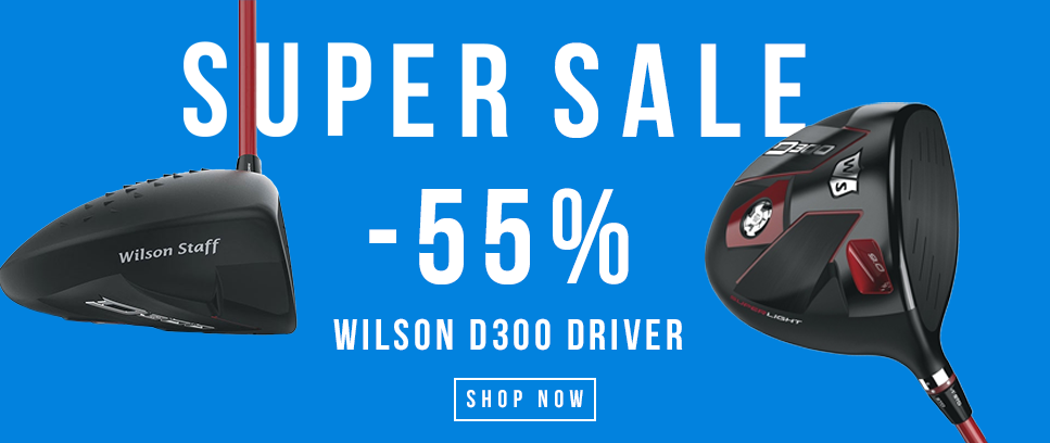 SUPER SALE ON WILSON D300 DRIVERS 55% OFF