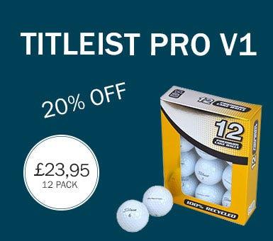 Titleist Pro v1 grade A balls - 20% OFF